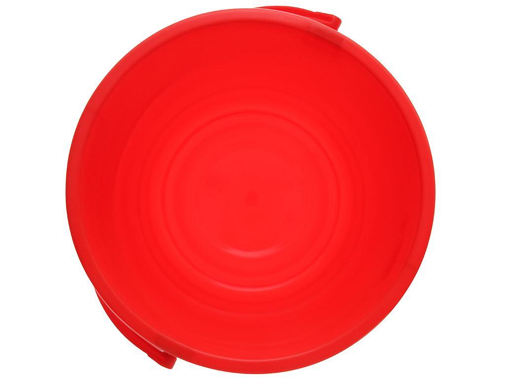 Xô đựng nước nhựa tròn có nắp Duy Tân 18 lít 4