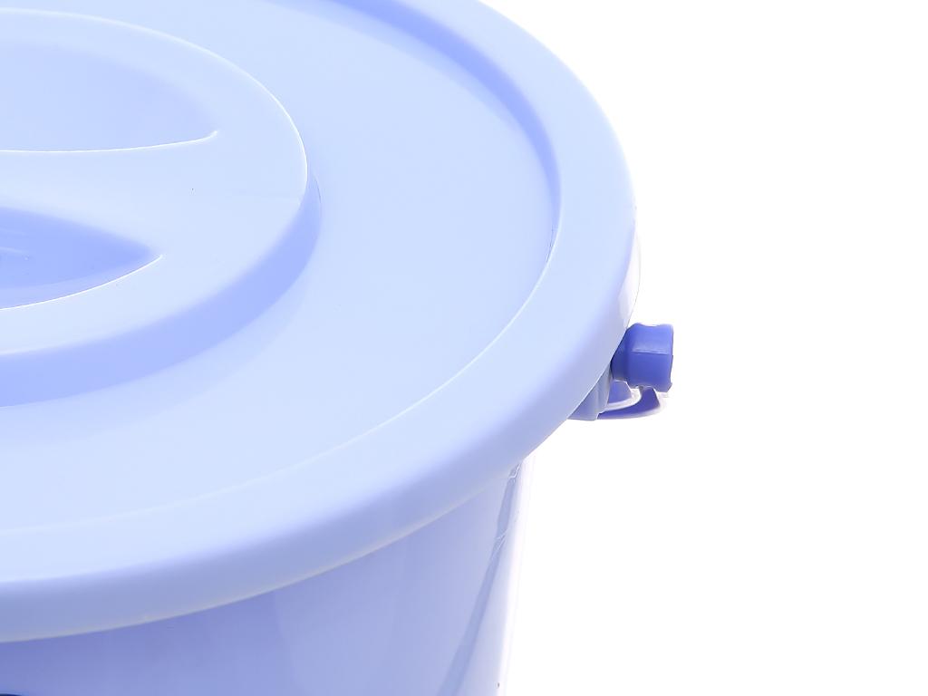 Xô đựng nước nhựa tròn có nắp Duy Tân 6 lít 3
