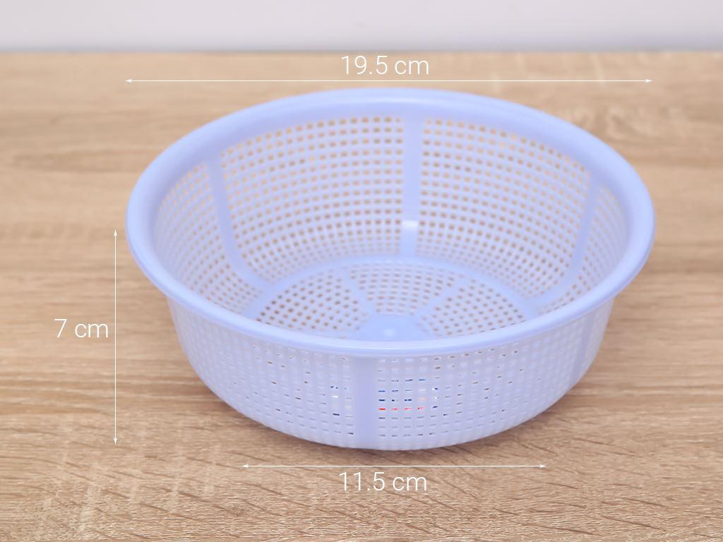 Rổ nhựa tròn Duy Tân 2T0 20cm (giao màu ngẫu nhiên) 7