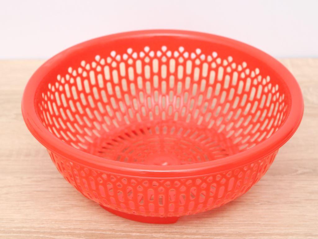 Rổ nhựa tròn Duy Tân 2T4 24cm (giao màu ngẫu nhiên) 1
