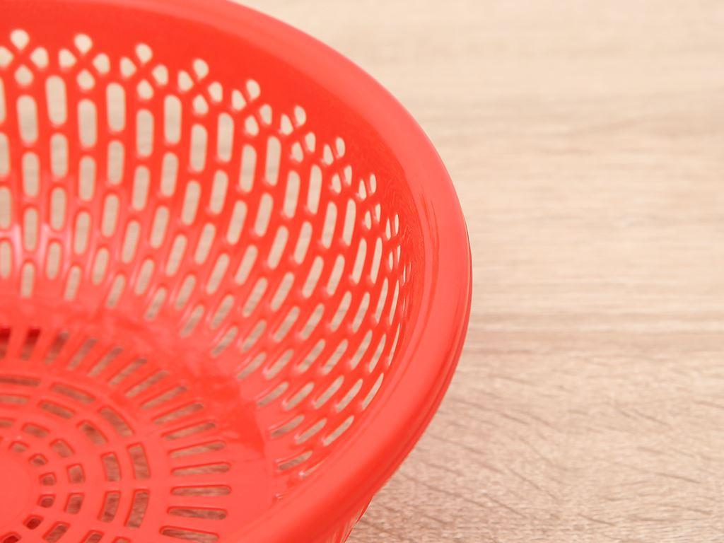 Rổ nhựa tròn Duy Tân 2T4 24cm (giao màu ngẫu nhiên) 2