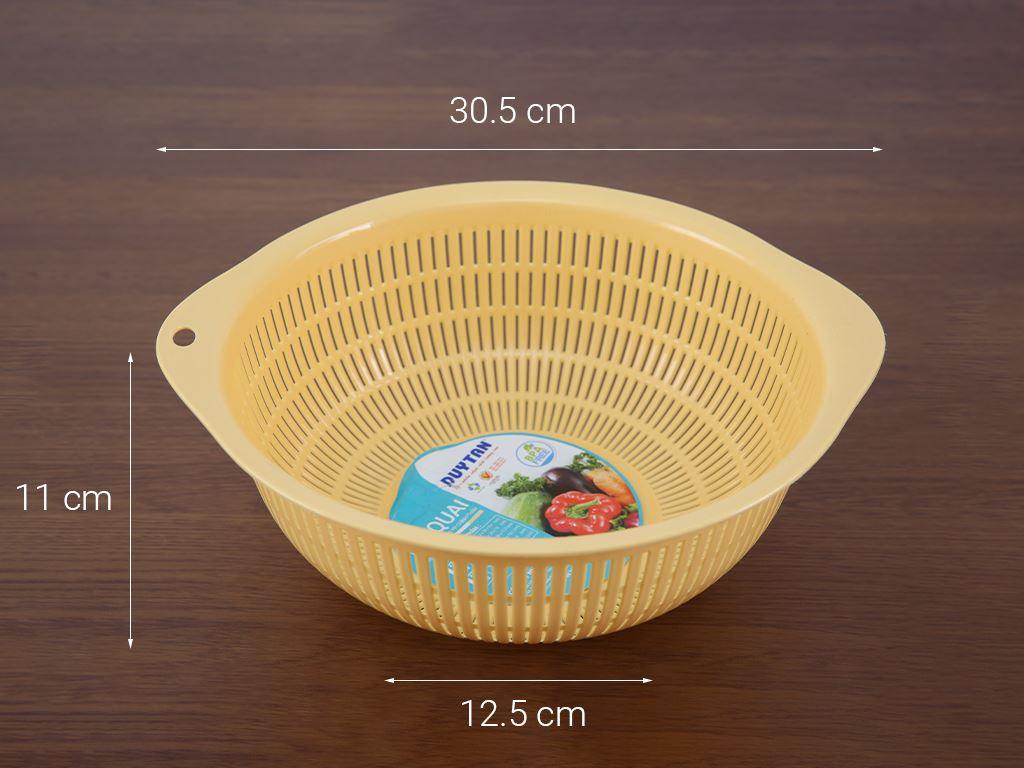 Rổ nhựa tròn Duy Tân 2T8-319 28cm (giao màu ngẫu nhiên) 8