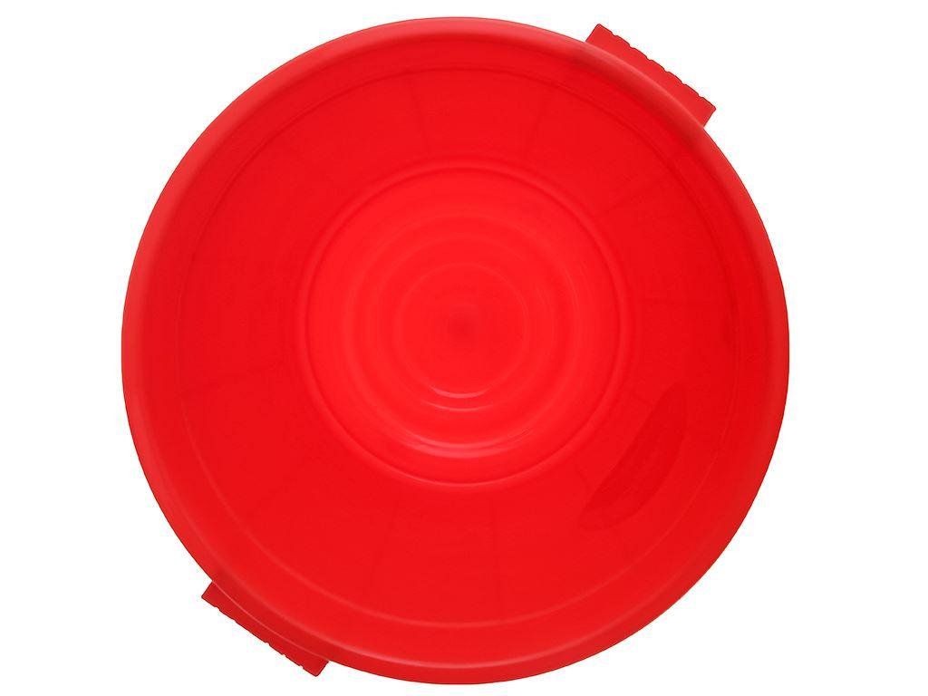 Thùng đựng nước nhựa tròn có nắp Duy Tân 25 lít (giao màu ngẫu nhiên) 10