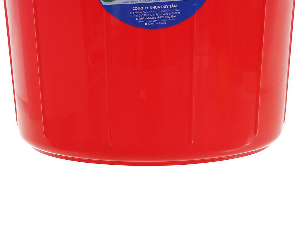 Thùng đựng nước nhựa tròn có nắp Duy Tân 25 lít (giao màu ngẫu nhiên) 11
