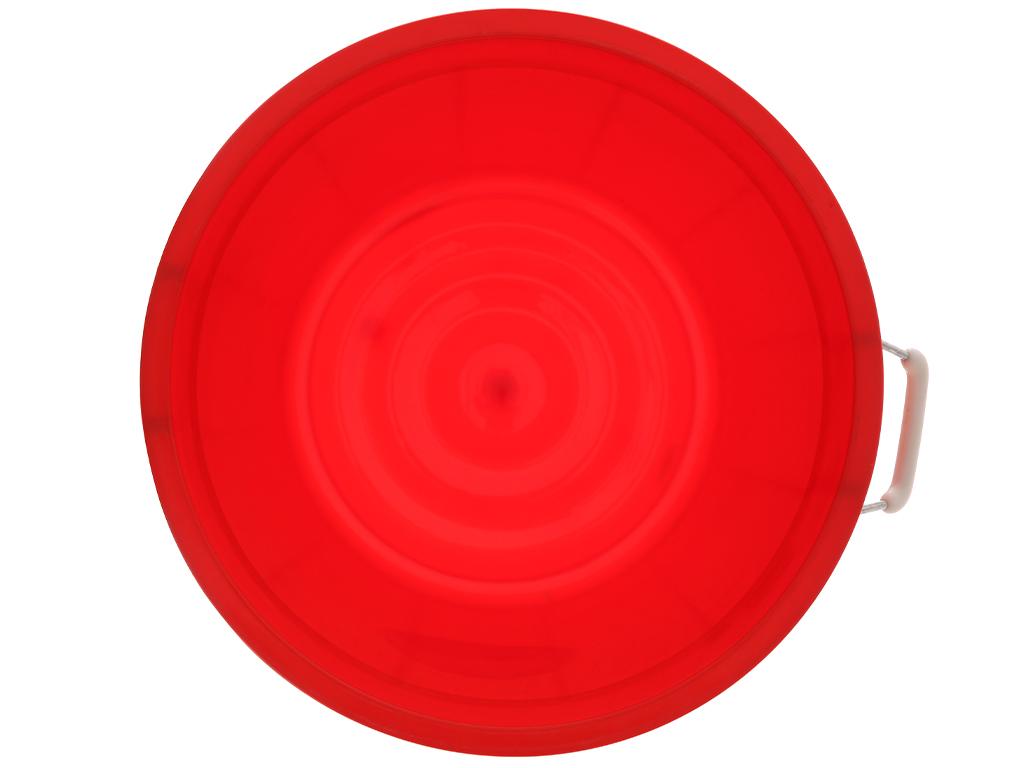 Thùng nhựa tròn có nắp Duy Tân 35 lít (giao màu ngẫu nhiên) 4