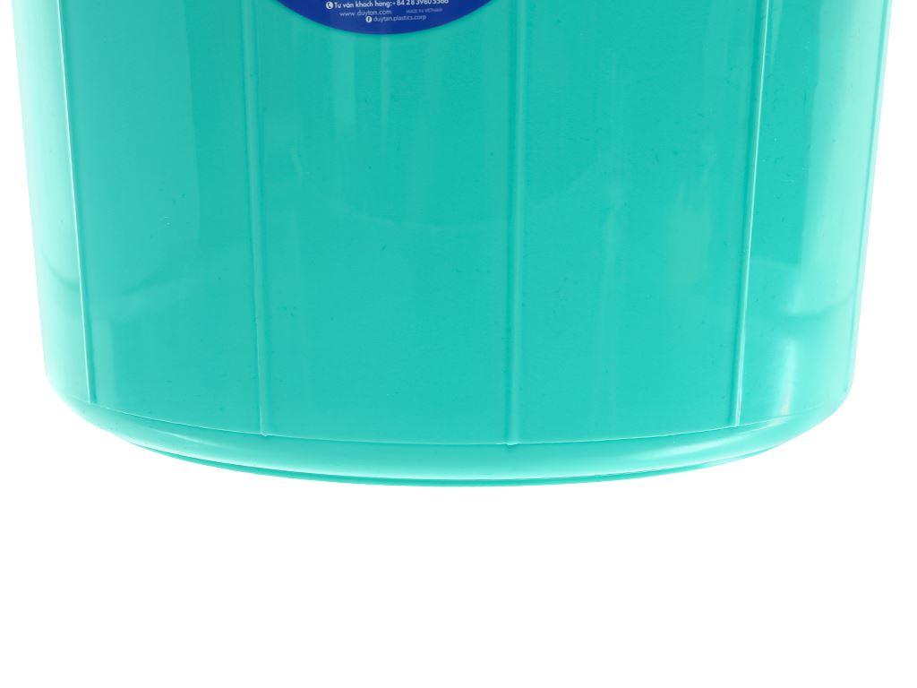 Thùng đựng nước nhựa tròn có nắp Duy Tân 35 lít (giao màu ngẫu nhiên) 5