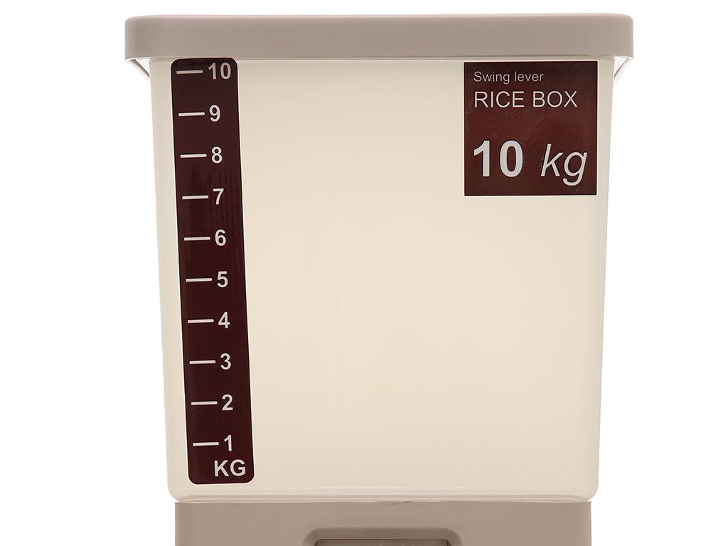 Thùng nhựa thông minh Tashuan 10kg (giao màu ngẫu nhiên) 2