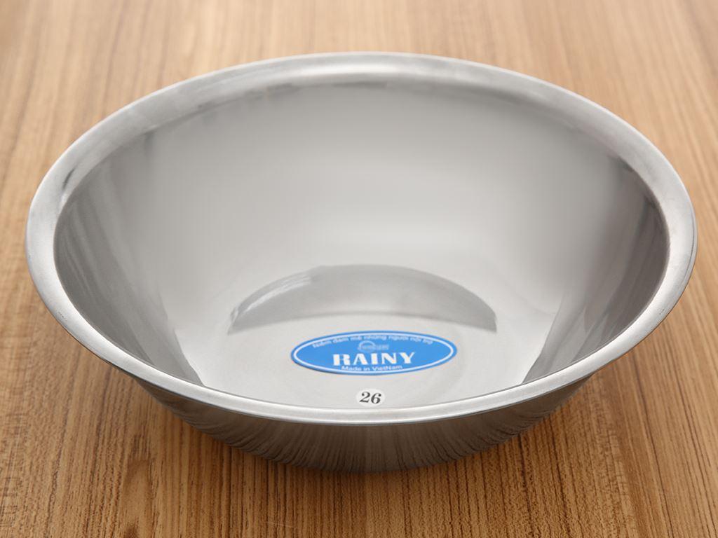 Thau inox tròn Rainy THAU26-4D 26cm 1