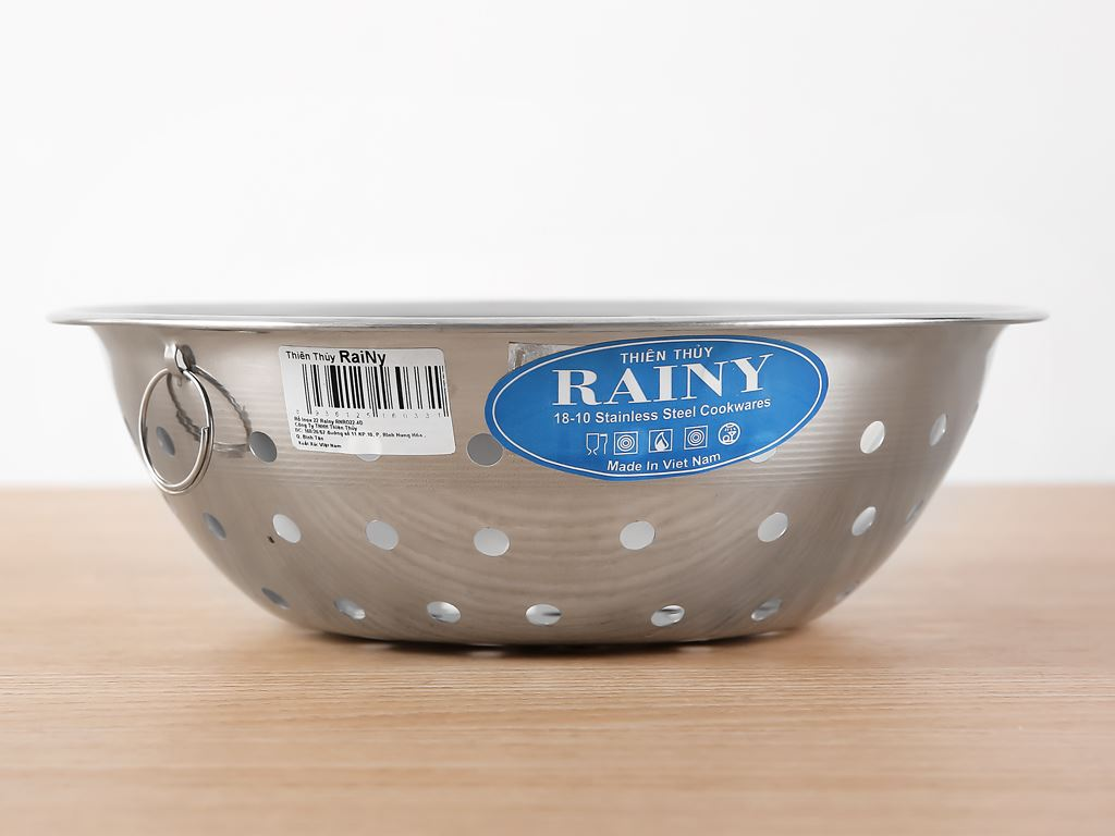Rổ inox tròn Rainy RNR022-4D 22cm 3