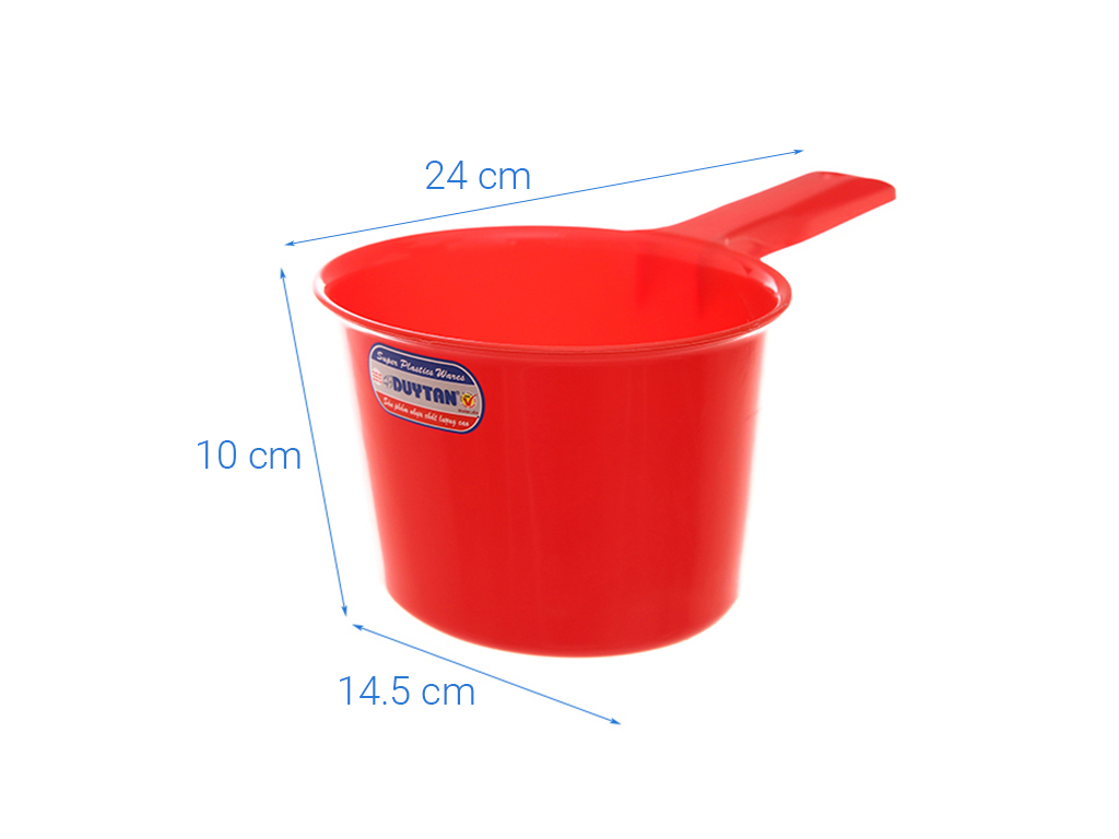 Gáo múc nước nhựa Duy Tân 872 24cm (giao màu ngẫu nhiên) 12