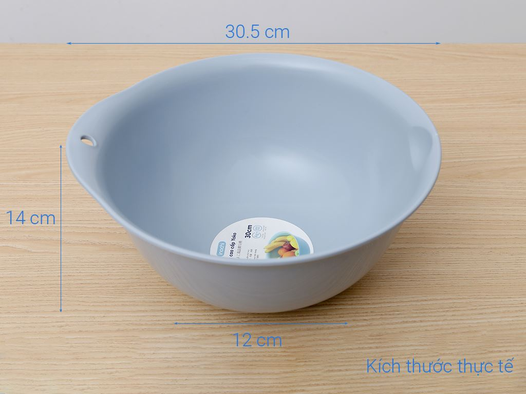 Thau nhựa pp Inochi 30cm 8
