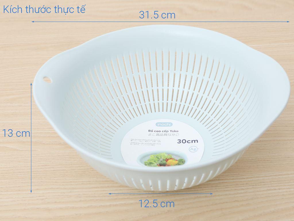 Rổ nhựa pp Inochi 30cm 9