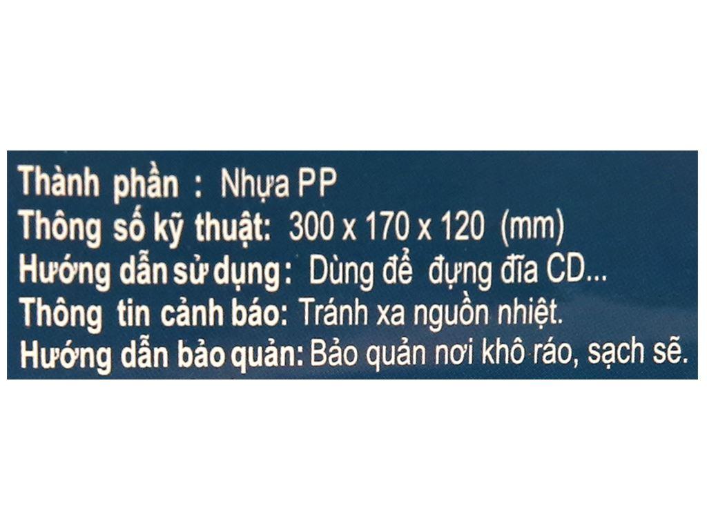 Rổ chữ nhật Tự Lập TL339 30cm 8