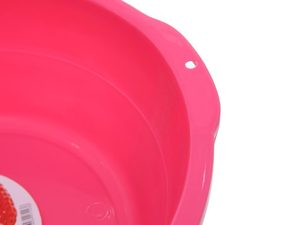 Thau nhựa 40cm Tự Lập TL1- 828 màu hồng 3