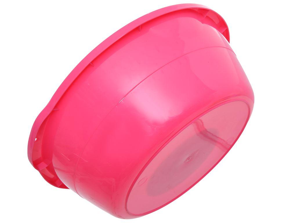 Thau nhựa 40cm Tự Lập TL1- 828 màu hồng 4