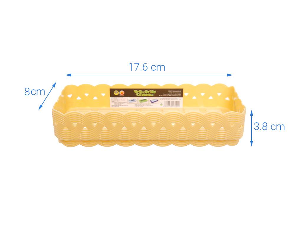 Rổ nhựa đan Tự Lập 17.6cm 7