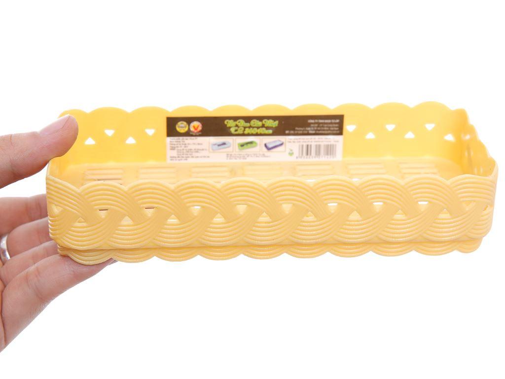 Rổ nhựa đan Tự Lập 17.6cm 8