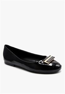 Giày Búp Bê 1cm màu đen Sablanca BB0005