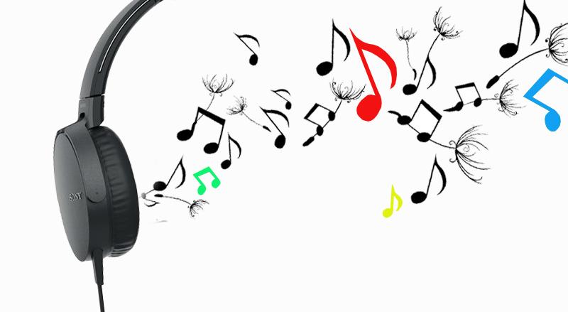 Tai nghe chụp tai Sony MDR-XB550AP - Chất âm trong trẻo, bass sâu và mạnh mẽ