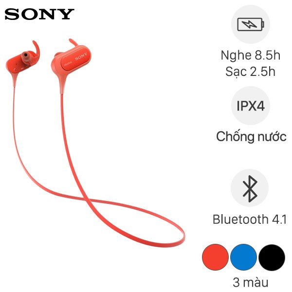 Tai nghe Bluetooth Sony Extra Bass MDR-XB50BS