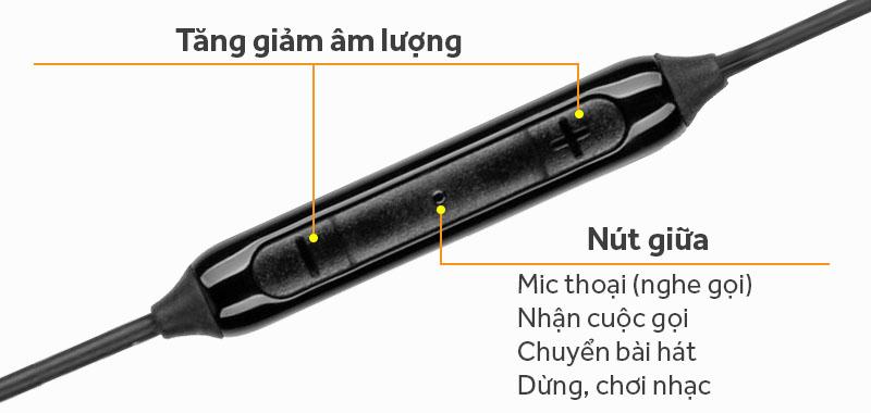 Tai nghe nhét trong Samsung IG935B - Phím ấn trên loa đa chức năng