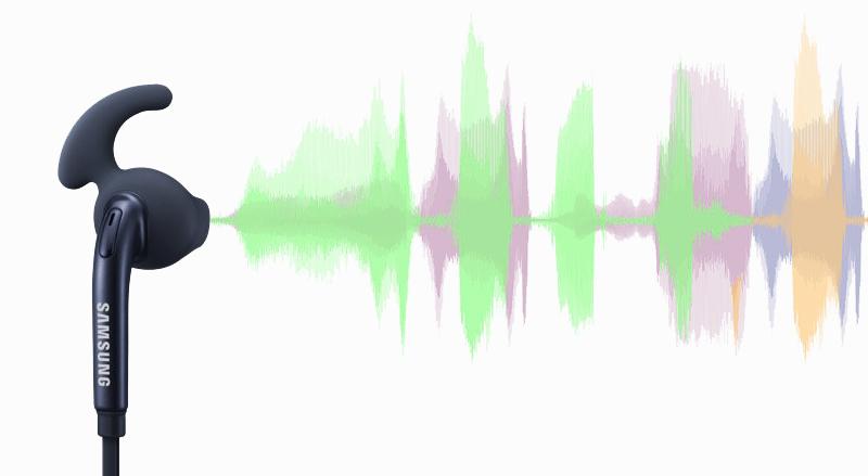 Tai nghe nhét trong Samsung EG920B - Âm thanh được xử lý tốt để mang tới chất lượng nhạc trong trẻo