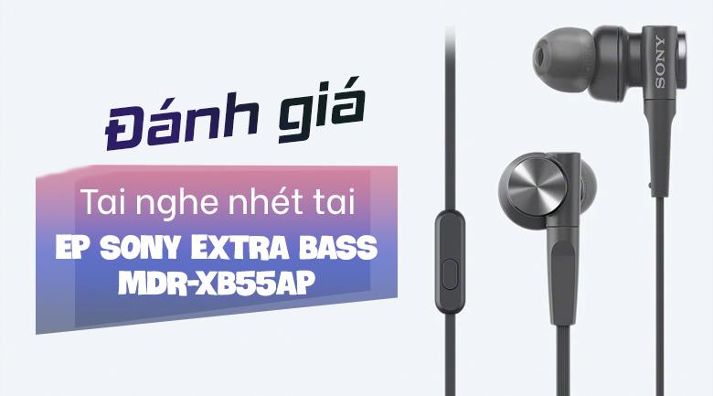 Tai nghe Có Dây Sony Extra Bass MDR-XB55AP