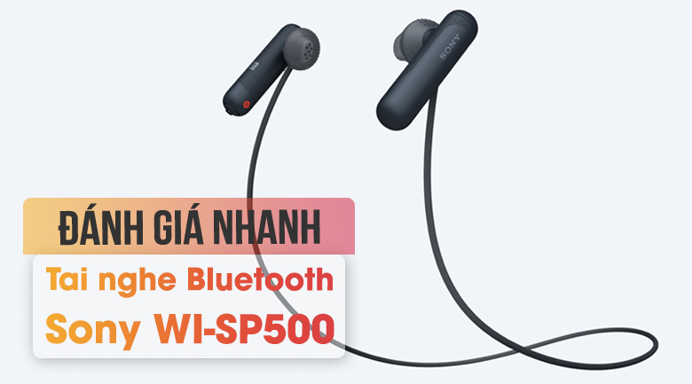 Tai nghe Bluetooth Sony WI-SP500