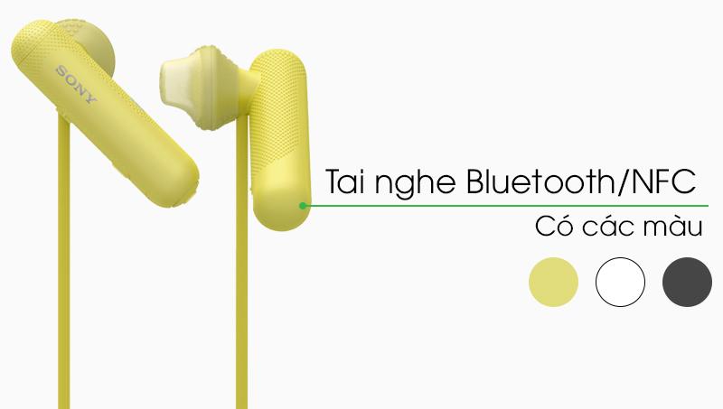 Tai nghe Bluetooth Sony WI-SP500 thiết kế bắt mắt