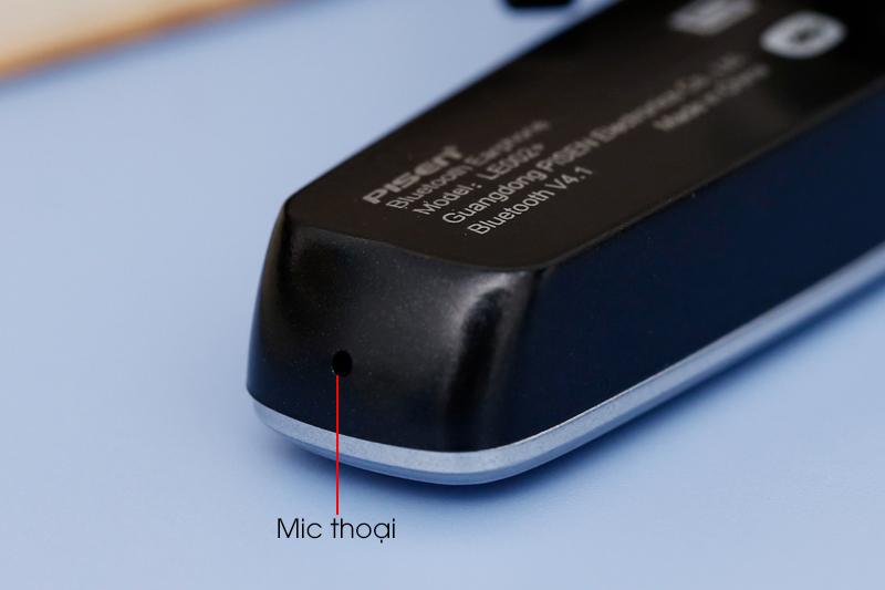 Tai nghe Bluetooth Pisen LE002+ Đen - Mic thoại