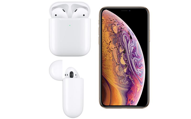 Tai nghe Bluetooth AirPods 2 Wireless charge Apple MRXJ2 Trắng  có đèn led báo sạc
