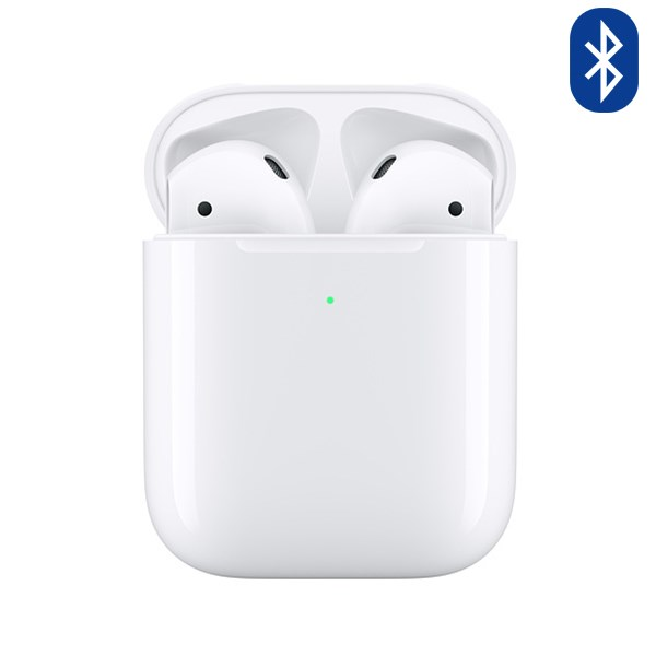 Bluetooth AirPods 2 Wireless Charge Apple White