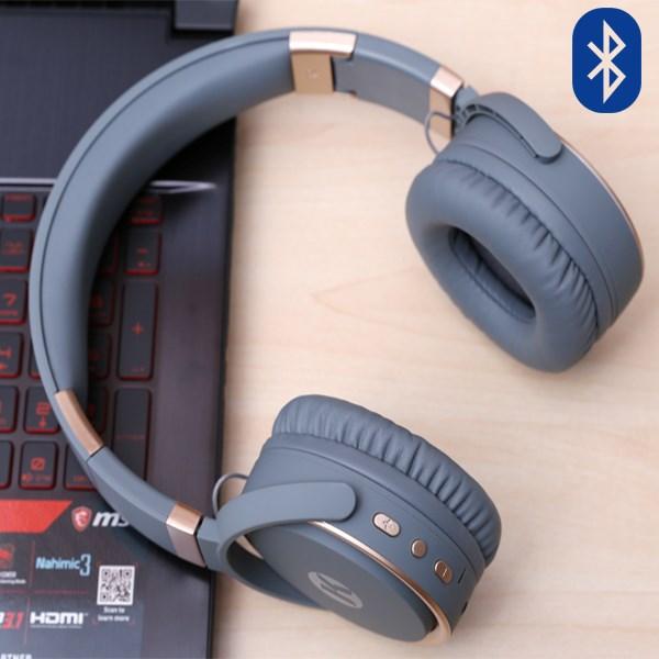 Tai nghe Bluetooth Kanen K6 Xám Gold