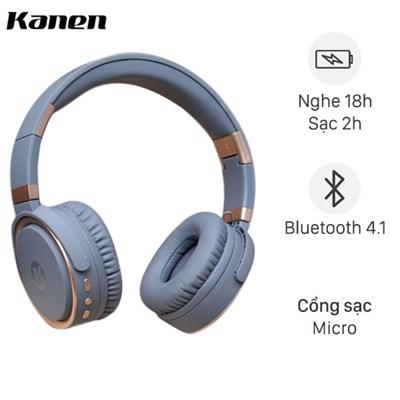 Tai nghe Bluetooth Chụp Tai Kanen K6