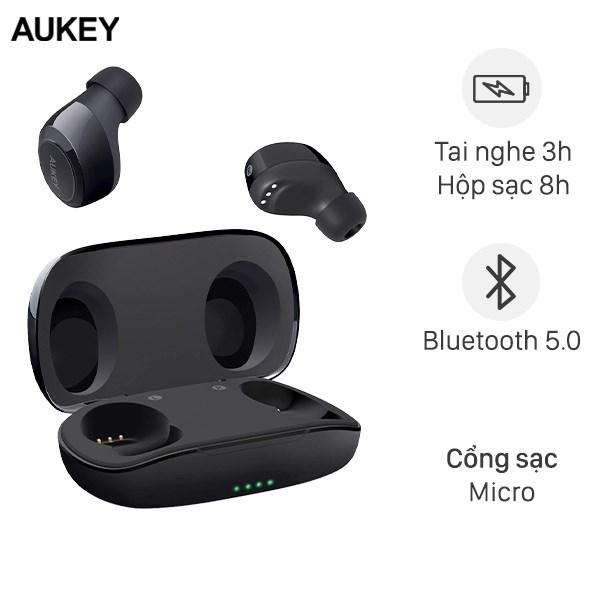 Tai nghe Bluetooth True Wireless Aukey EP-T16S