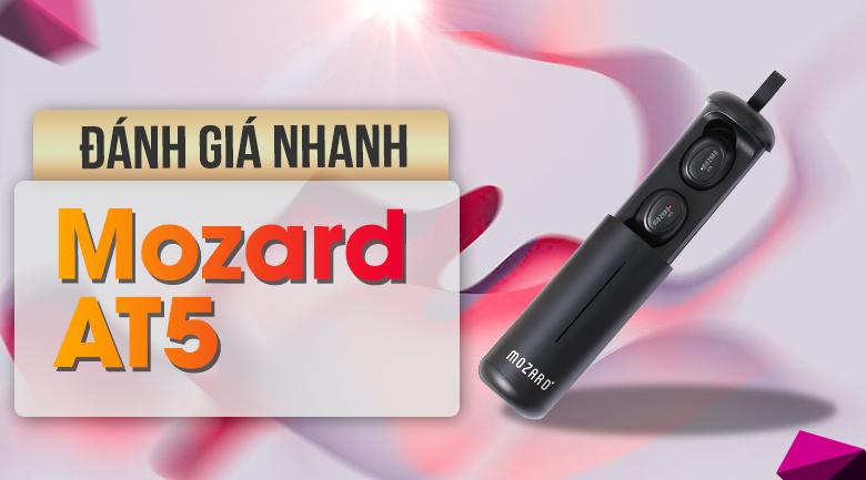 Tai nghe Bluetooth True Wireless Mozard AT5