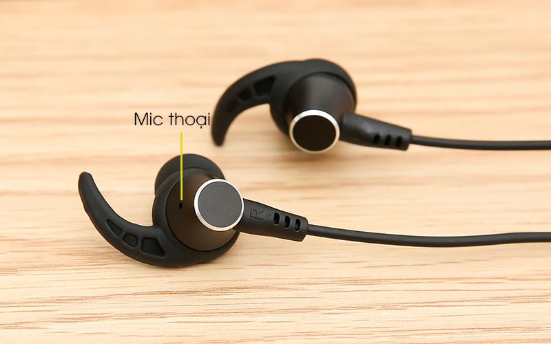 Tai nghe Bluetooth Mozard Flex4 Đen Xanh có mic thoại