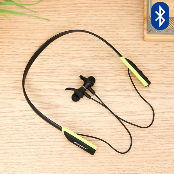 Tai nghe Bluetooth Mozard Flex4 Đen Xanh
