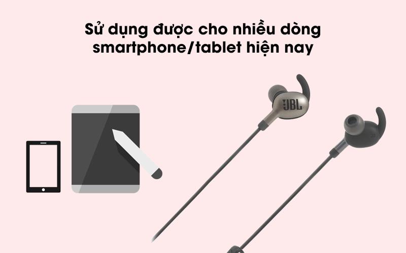Tai nghe Bluetooth thể thao JBL V110GABT sử dụng được với nhiều dòng máy