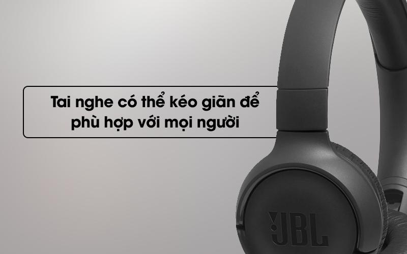 Tai nghe chụp tai JBL T500 có thể kéo giãn