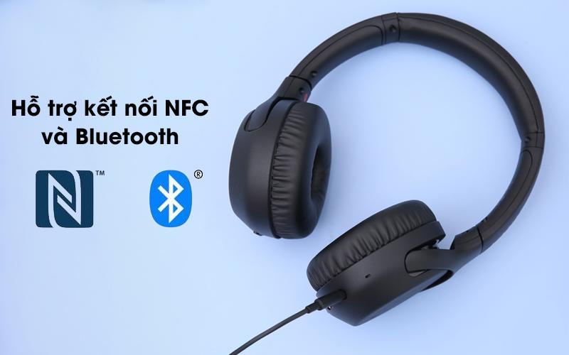Tai nghe chụp tai Bluetooth Sony WH-XB700 có 2 cách kết nối