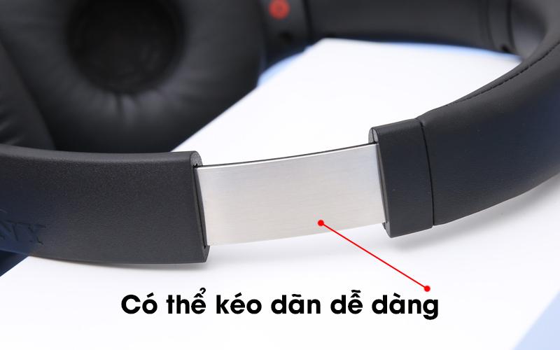 Tai nghe chụp tai Bluetooth Sony WH-XB700 có thể kéo dãn