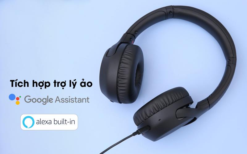Tai nghe chụp tai Bluetooth Sony WH-XB700 có tích hợp trợ lý ảo