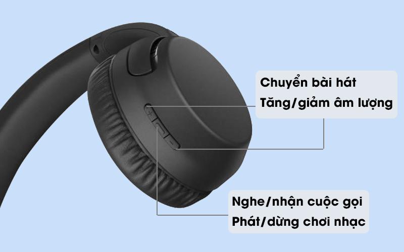 Tai nghe chụp tai Bluetooth Sony WH-XB700 với các chức năng khác nhau