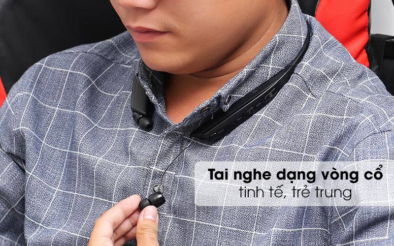 Thiết kế cao cấp, năng động - Tai nghe Bluetooth LG HBS-835 Đen
