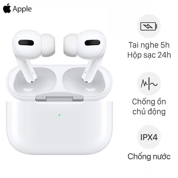 Tai nghe AirPods Pro sạc không dây Apple MWP22