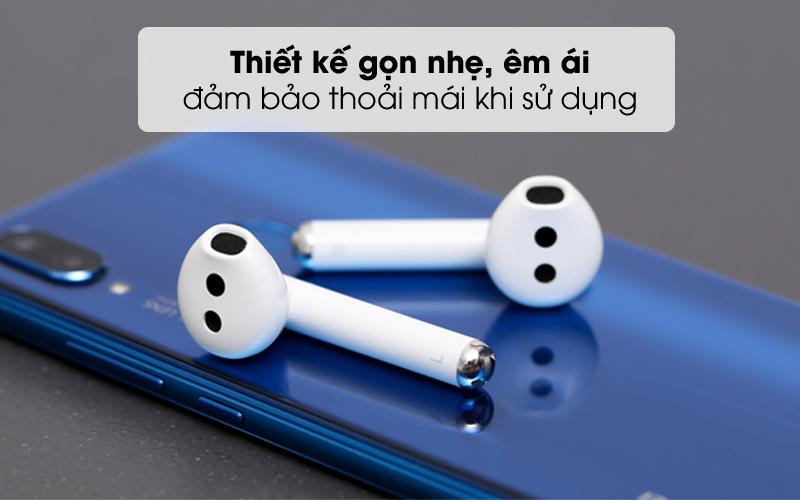 Thiết kế nhỏ gọn, êm ái, đảm bảo thoải mái khi sử dụng - Tai nghe Bluetooth True Wireless Huawei FreeBuds 3