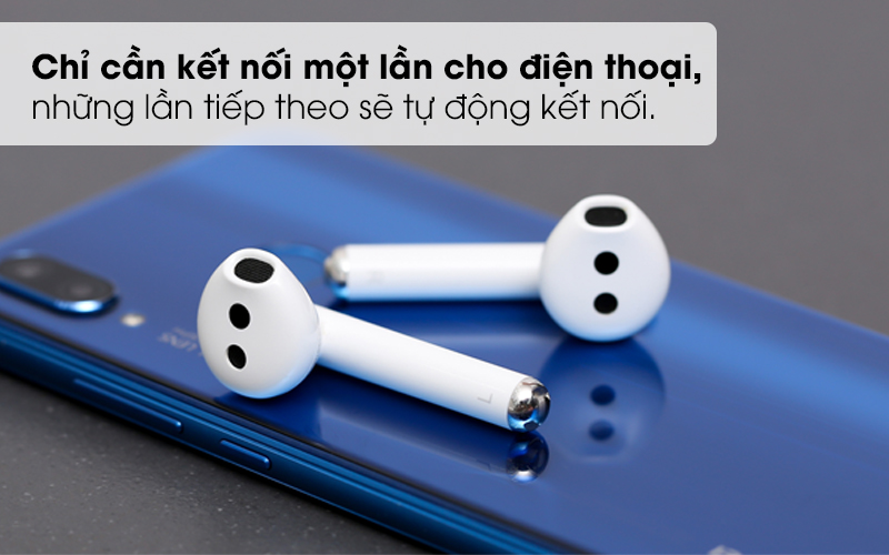 Chỉ cần kết nối một lần cho điện thoại - Tai nghe Bluetooth True Wireless Huawei FreeBuds 3