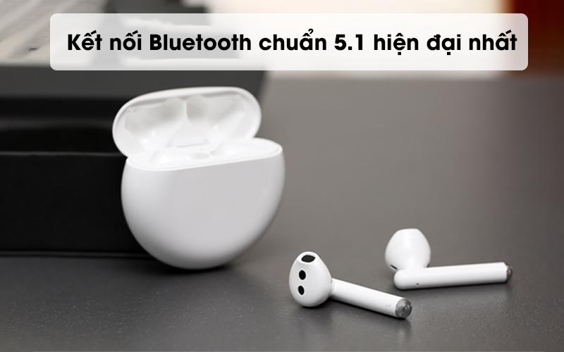 Kết nối Bluetooth chuẩn 5.1 hiện đại nhất - Tai nghe Bluetooth TWS Huawei FreeBuds 3 Trắng