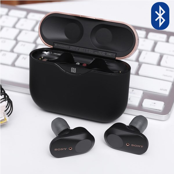 Tai nghe Bluetooth True Wireless Sony WF-1000XM3BME Đen